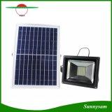Inondation solaire de 30 DEL allumant le projecteur solaire extérieur imperméable à l'eau de jardin de garantie avec à télécommande