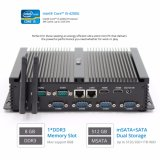 Equipo Mini ITX I5 de doble puertos LAN de Intel Desktop con decodificación de 4K de Puerto serie RS232