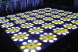 La lumière DEL Dance Floor d'étape de Diso de fleur de contrôle de DMX bon marché la plus neuve