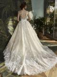 レースの球の花嫁のウェディングドレス