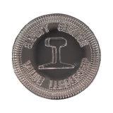 La plupart des précieuses pièces en alliage de zinc Panier coin pièce en euro