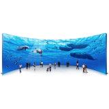 Mur vidéo de 46 pouces écran LCD d'épissage Totem de signalisation de la publicité