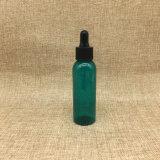 60ml vacian la botella plástica 2oz del cuentagotas del animal doméstico redondo de Brown Boston