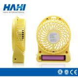 LEDライトが付いている3.7V 18650リチウム電池の小型扇風機