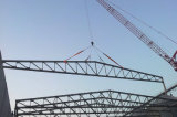 Struture de aço fabricado para a telhadura da grande extensão