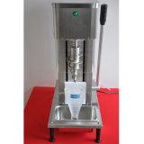 Mezclador del remolino del helada del helado de la fruta de la tapa de vector