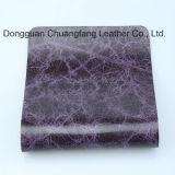 Imperméabiliser le cuir artificiel durable estampé pour le capitonnage de sofa (F8002)