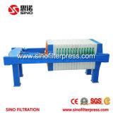 450 Petit PP encastrés de filtre presse pour le traitement des eaux usées de l'hôpital
