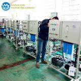 Stabilimento di trasformazione dell'acqua di mare del sistema Membrance del RO
