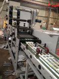 Máquina de impressão de Flexo (ZB-320-4C) com estação e cobertura cortando