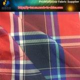 Пять цветных полиэфирных нитей домашний проверьте ткань для пляжа коротких замыканий