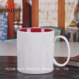 Tazze di caffè di ceramica su ordinazione della tazza (parte interna variopinta)