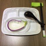 Porselein van de Platen van het Diner van de Kwaliteit van het hotel het Witte voor Restaurant