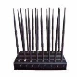 construtor 315/433MHz do GPS WiFi Lojack VHF-UHF/RF do jammer de 3.6g/5g WiFi/telemóvel de controle remoto 2g 34G 4G Jammer