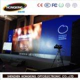 Alto schermo di visualizzazione dell'interno del LED di colore completo di definizione P3.91 per affitto