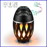 Licht-Flamme-Lautsprecher LED-drahtloser Bluetooth warmer