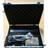 8 Jammer VHF UHF WiFi GPS Lojack телефона наивысшей мощности 3G полос