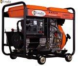 5.5kw öffnen Typen beweglichen Dieselgenerator mit Rad-heißem Verkauf