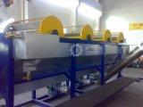 500 kg/h de HDPE LDPE PP Película Agrícola de la Línea de lavado Reciclaje