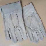 Рабочие перчатки из натуральной кожи