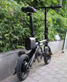 Bicicleta elétrica da liga de alumínio de bateria de lítio da bicicleta de 12 polegadas