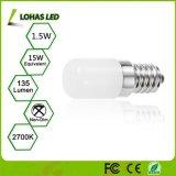 小さい家庭電化製品のための1.5W E14 2700K LED夜球根