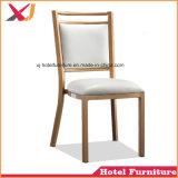 Hotel novo casamento utilizado aço/Jantar de alumínio Cadeira Banquetes Cadeira de café