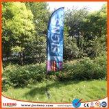 Publicidad al aire libre Bandera de Vela de la playa de poliéster