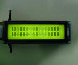 황록색 LED 역광선을%s 가진 ISO/RoHS LCD 디스플레이 16*2
