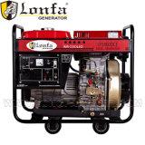 генератор Kama электрического тепловозного генератора 6kVA портативный тепловозный для сбывания