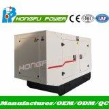 звукоизоляционный трехфазный тепловозный генератор 52.8kw/66kVA с двигателем Lovol
