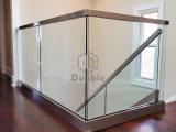 Frameless 유리제 방책 알루미늄 U 채널 유리 난간