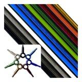 Le caoutchouc résistant à alésage lisse Auto Téflon PTFE flexible de frein