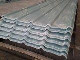 Painéis ondulados da telhadura do vidro de fibra da fibra de vidro do painel de GRP FRP