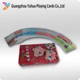 Os cartões educacionais Flashcards das crianças com projetam