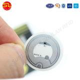 방수 NFC 꼬리표 스티커 RFID 접착제