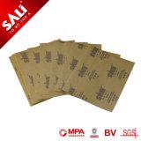 Sali de 4 pulgadas marca de fábrica China de papel de lija de grano 1000