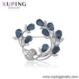 Xuping Blumen-Weinlesegrosse Großhandelsrhinestone-Brosche-Kristalle von Swarovski