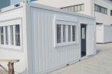 Rápida instalación de contenedores prefabricados casa viva