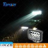 4X6 luz auto de la pista del acoplado del carro de la luz del trabajo del rectángulo LED
