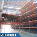 Mezzanine di cremagliera d'acciaio industriale di memoria del comitato con SGS/ISO per il magazzino