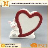 バレンタインデーの陶磁器の漫画様式のナプキンリング