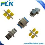 Duplex Upc/APC van de Adapter Sc/LC/FC/St van de Vezel van het metaal de Optische Singlemode Multimode Simplex met Flens