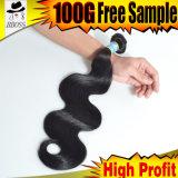 Tissage de cheveux de l'organisme brésilien vague des extensions de cheveux