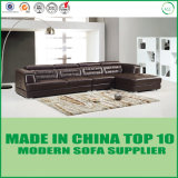 Moderne Hauptwohnzimmer-Möbel-ledernes Sofa-geschnittenset