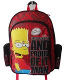 子供のための最上質ポリエステル学校学生のバックパック袋