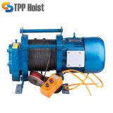 300 кг до 2000кг многофункциональных 220 В/380 В Kcd Электрические лебедки с беспроводной пульт дистанционного управления