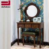 Amerikanische Art-festes modernes hölzernes Abziehvorrichtung-Set für Schlafzimmer-Möbel As822