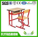 تصميم بسيطة مدرسة مكتب دراسة طاولة مع كرسي تثبيت