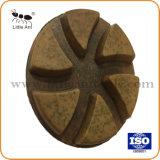Granite, Floor, Concrete.를 위한 8개 mm Thickness Metal Resin Renovation Polishing Pad